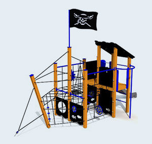 Piratenschip Flying Dutchman 116P