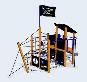 Piratenschip Flying Dutchman 116P