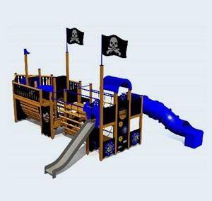 Piratenschip Black Pearl