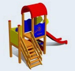 Speelhuisje Emma, voor peuters en kleuters (LM201)