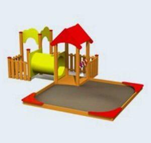 Speelhuisje Kiddo, voor peuters en kleuters (LMK003)
