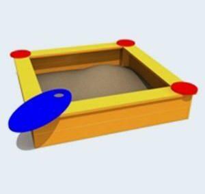 Zandbak, standaard uitvoering
