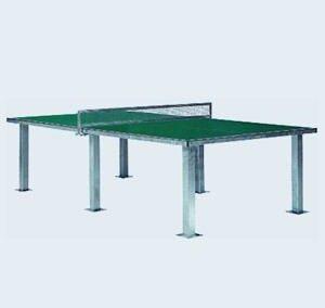 Type Chiodi: zwaar uitgevoerde tafel met stalen net